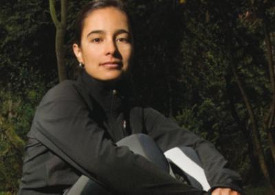 Fucsia: Ana María Giraldo Gómez, Montañista
