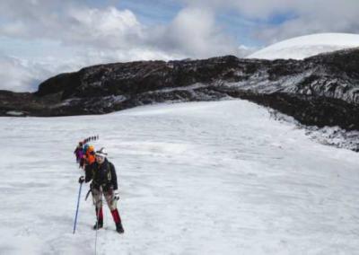 La Patria: Ana María Giraldo vuelve a la montaña