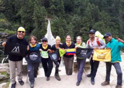 La Patria: Seis caldenses van a los pies del Everest