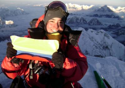 Yahoo!: Ana María Giraldo, una escaladora que siempre está mirando el cielo